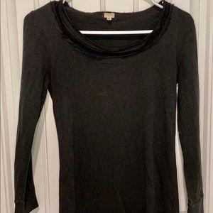 JCrew Dark Gray Long Sleeve Shirt